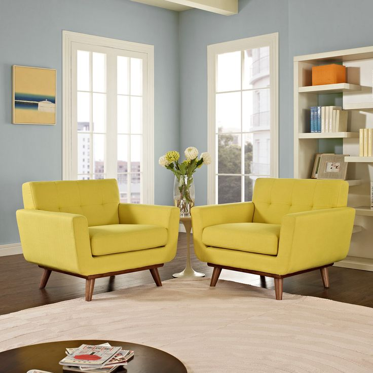 Best 25 yellow chairs ideas on pinterest yellow for Living room lounge chair