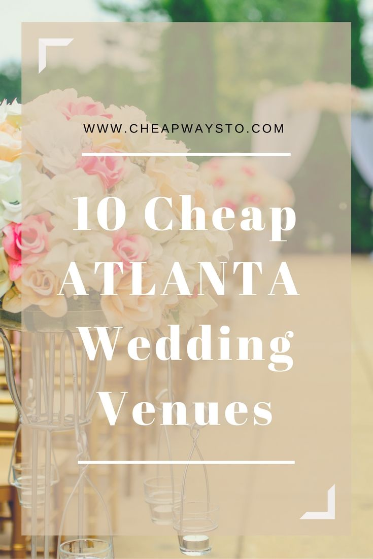 Best 20 Atlanta Wedding Venues Ideas On Pinterest