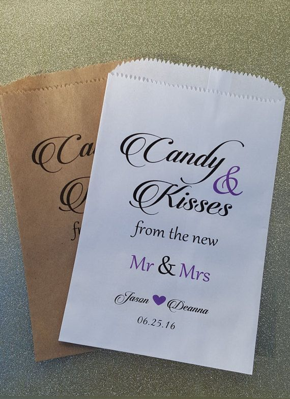 CandyBags for Candy Buffet  https://www.etsy.com/listing/258478828/love-is-sweet-enjoy-a-treat-wedding