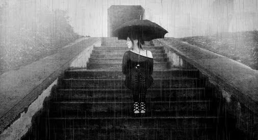 Self Portrait :: November Rain :: 2o13 #gretchenchappelle #selfportrait #photography  #monochrome #blackandwhite