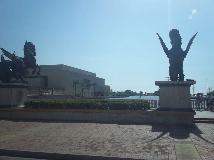 El puerto de Cartagena.
