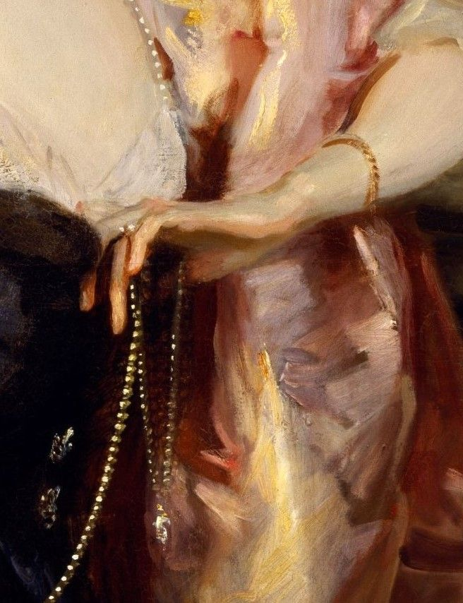 Potrait of Lady Helen Vincent in Venice  by John Singer Sargent, 1904
