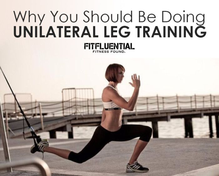 Why You Should Be Doing Unilateral Leg Training- Lower body exercise routine to boost strength and fitness!