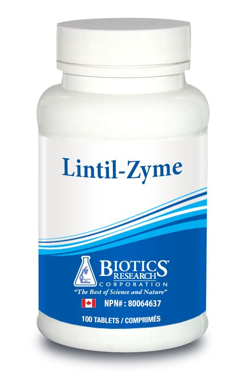 Lintil-Zyme Adrenal Brain Support.