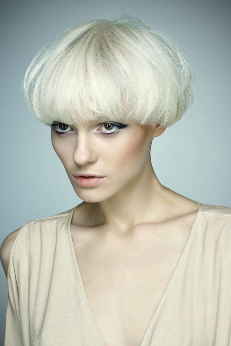 Mushroom Hairstyle Fade Haircut