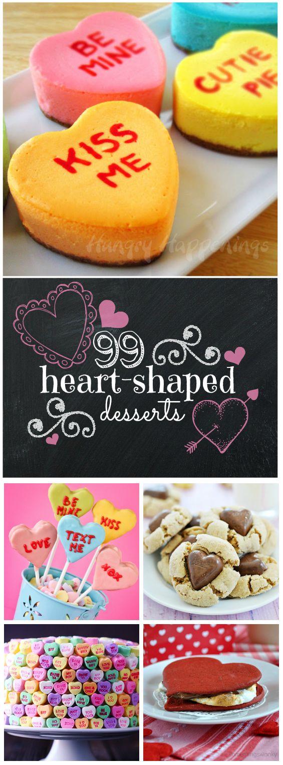 99 Heart Shaped Treats