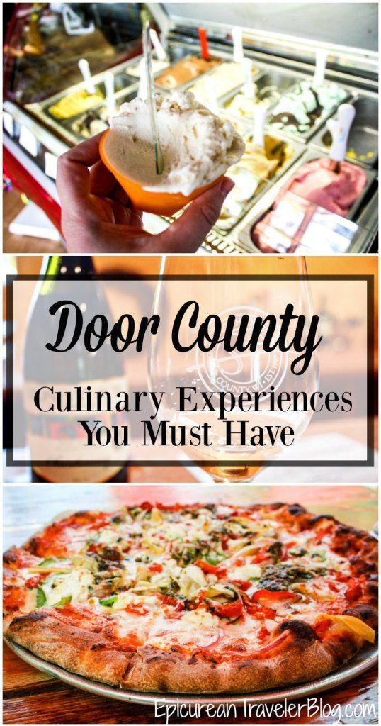 Eight Door County culinary experiences you must have! | EpicureanTravelerBlog.com