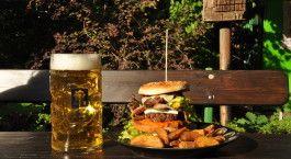 Substanz, der schönste Biergarten Leipzigs