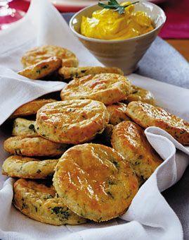 Käse-Kräuter-Scones - Fingerfood & Snacks