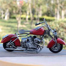 Творческий Металл Craft Подарки Ретро Мотоциклов Модель Для Домашнего Декора Старинные Металлические Ремесла Модель Мотоцикла Подарок На День Рождения(China (Mainland))