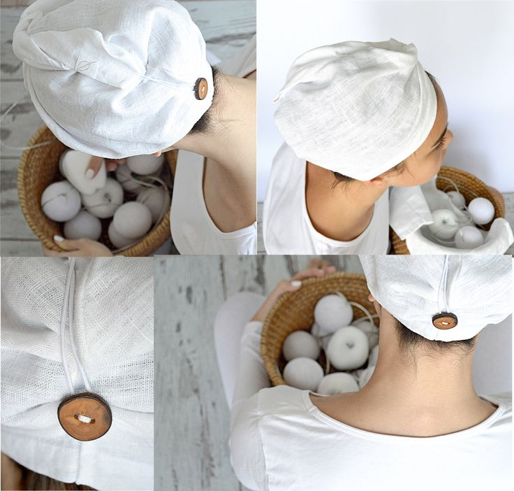 Linen hair towel - Pure linen hair turban - White woman bath turban - Natural linen sauna / spa / shower / bath turban - Treat yourself ! by pureWHITEspa on Etsy https://www.etsy.com/listing/250737240/linen-hair-towel-pure-linen-hair-turban