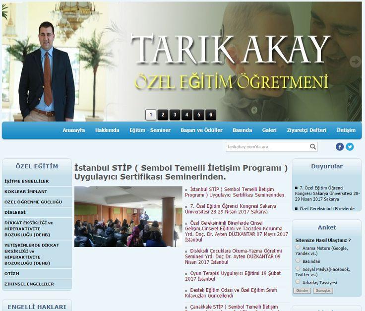 www.tarikakay.com özel eğitim, disleksi, dikkat eksikliği