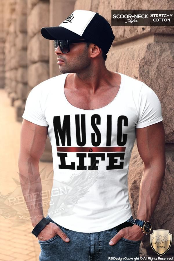 2c61a296 Music Is Life Men's Fashion T-shirt Dj Party Festival Tank Top MD109 – RB  Design Store