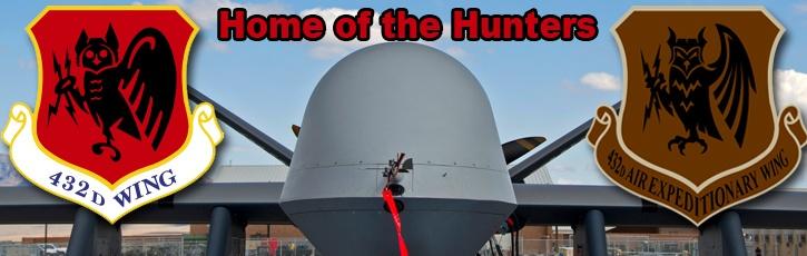 Creech Air Force Base, Home of the Hunters #photo w/ logos  #Nevada #USAF