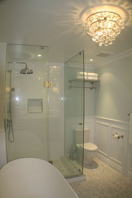 11 best images about glassless shower on pinterest for Bathroom designs without tub