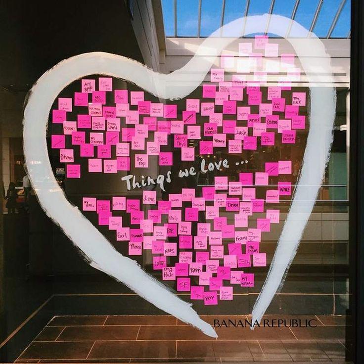 Ideas para crear escaparates de San Valentín.