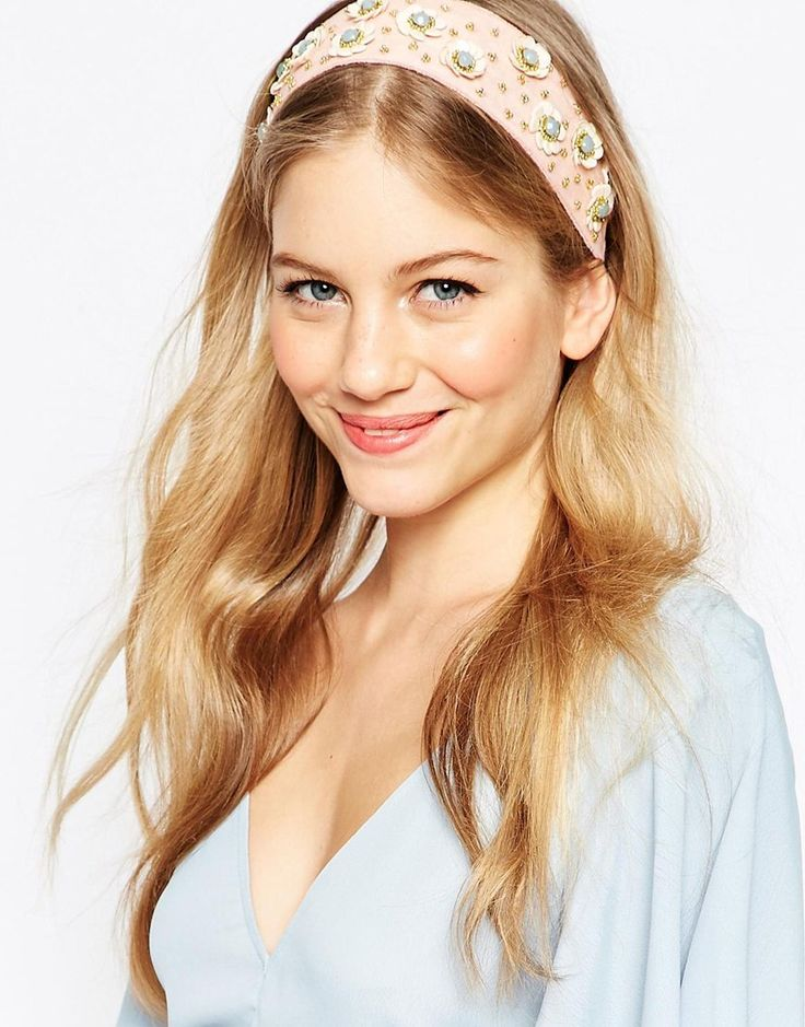 ASOS+Sequin+Flower+Headband