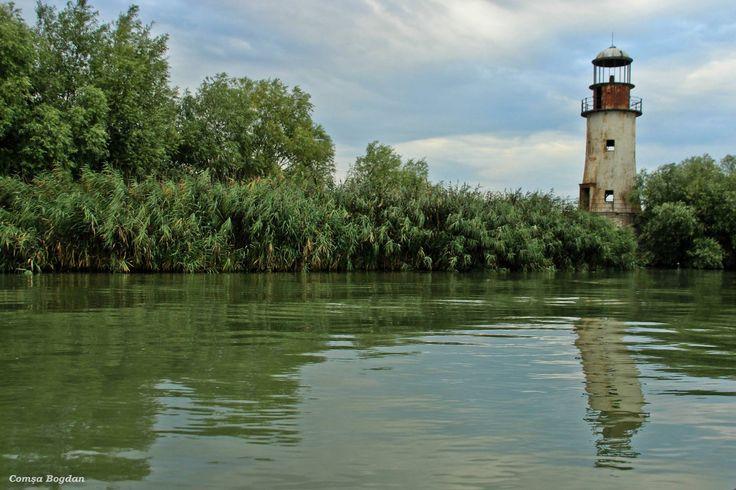 Farul Vechi - braţul Sulina - jud. Tulcea Rezervaţia Biosferei Delta Dunării