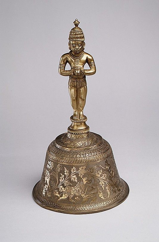 Ghanti Date: last half 19th century Geography: North, India Medium: Brass