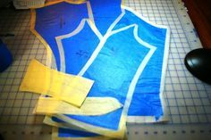 How to Copy a Garment that Fits Perfectly Without Taking it Apart #sewing #fashion #pattern_making