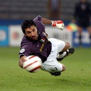 """Italian Goalkeeper Gianluigi """"Gigi"""" Buffon"""