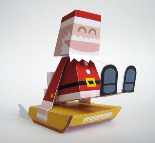 Papercraft 3d De Papa Noel   Search Results   Calendar 2015