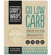 Gerry's Wraps 'Go Low Carb', reduced carb wrap - ideal for diabetics
