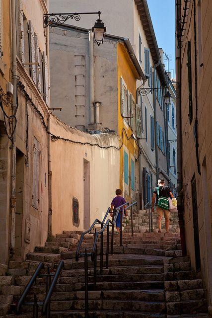 Rue des Moulins, Marseille, France