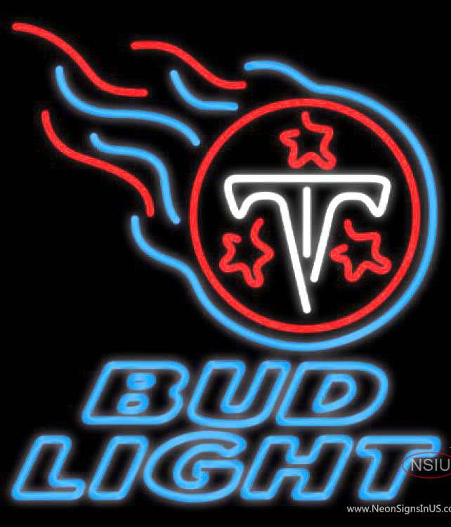 Bud Light Neon Tennessee Titans NFL Real Neon Glass Tube Neon Sign,Affordable and durable,Made in USA,if you want to get it ,please click the visit button or go to my website,you can get everything neon from us. based in CA USA, free shipping and 1 year warranty , 24/7 service