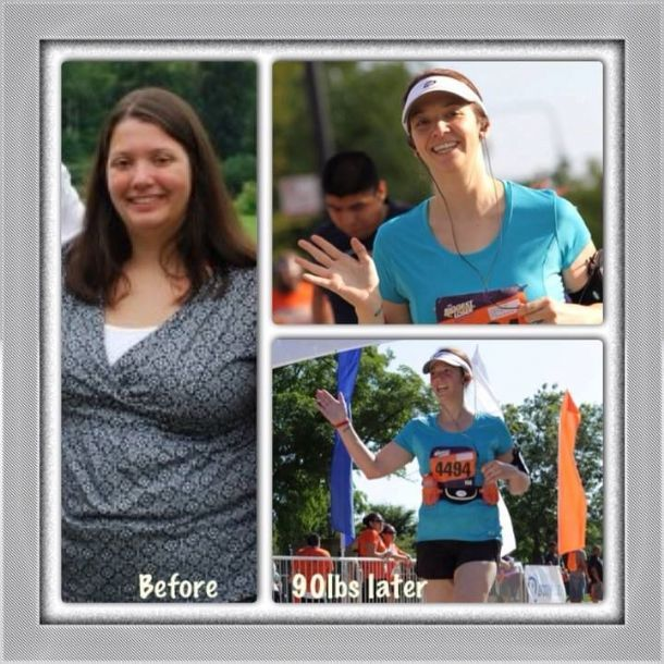 Find out how Erika lost 90 pounds, busted through her depression, and built a new life for herself!