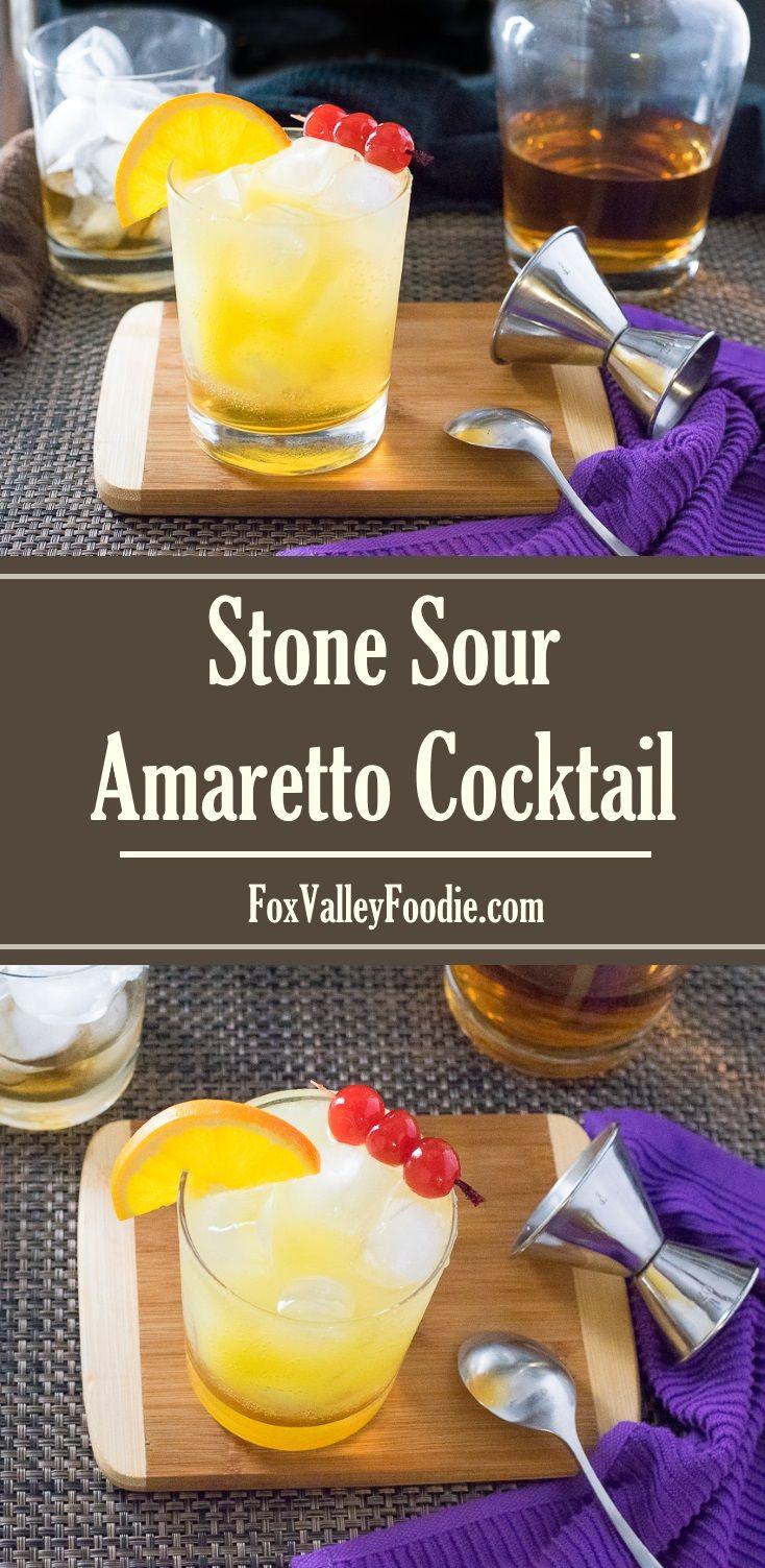 Stone Sour Amaretto Cocktail