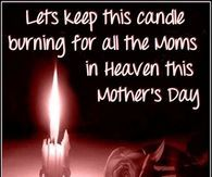 Moms In Heaven On Mothers Day Quote
