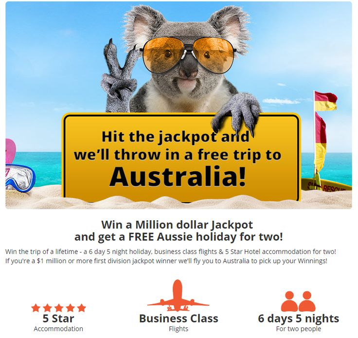 Do you want to win a free trip for two to Australia? Check it out! #LotteryOffice https://lotteryoffice.com/adclick?campaignId=26&utm_content=bufferd2e41&utm_medium=social&utm_source=pinterest.com&utm_campaign=buffer