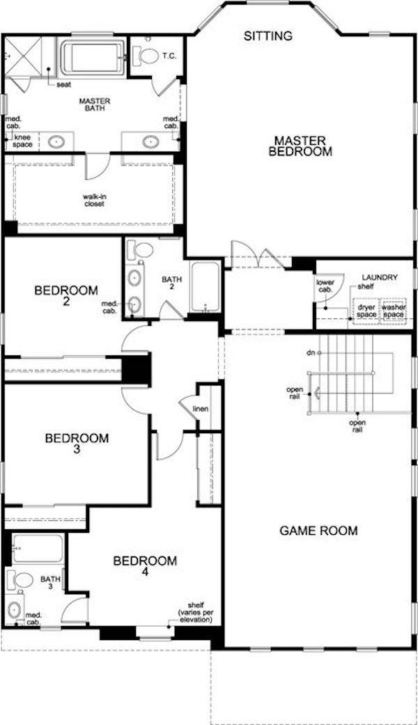 Kb Homes Floor Plan Archive In 2020 House Floor Plans Floor Plans Kb Homes