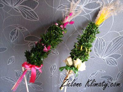 zielone klimaty - kwiaty Lublin: Niedziela Palmowa- wielkanocne palmy