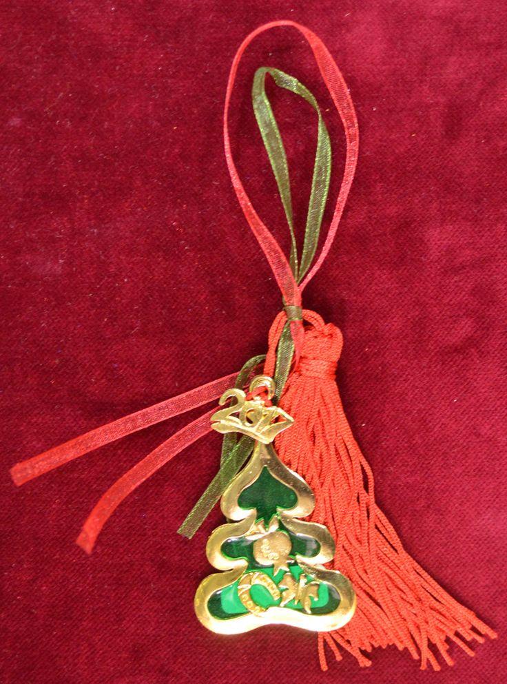Lucky Charm 2017 Christmas Tree Green