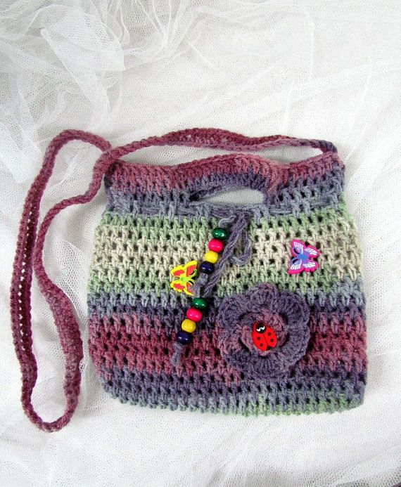 Crochet Medicine Bag Pattern : 359 best images about #3=GRANNY BAGS= CELL= MEDICINE BAGS ...
