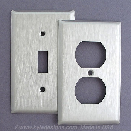 Stainless Steel Switch Plates and Outlet Covers