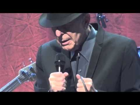 Old Ideas Tour ~ Leonard Cohen, Lover, Lover, Lover (Beautiful new arrangement with a Latin beat, a gem!) ~ Wang Theater, Boston 12.16.2012