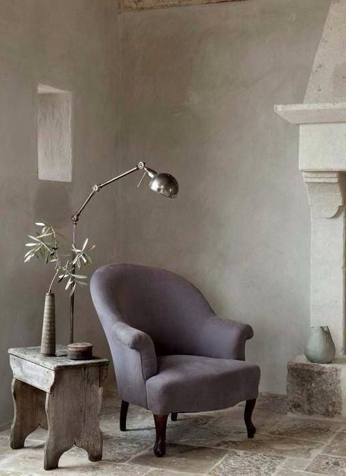 Reading corner - Armchair + Lamp + Side Table