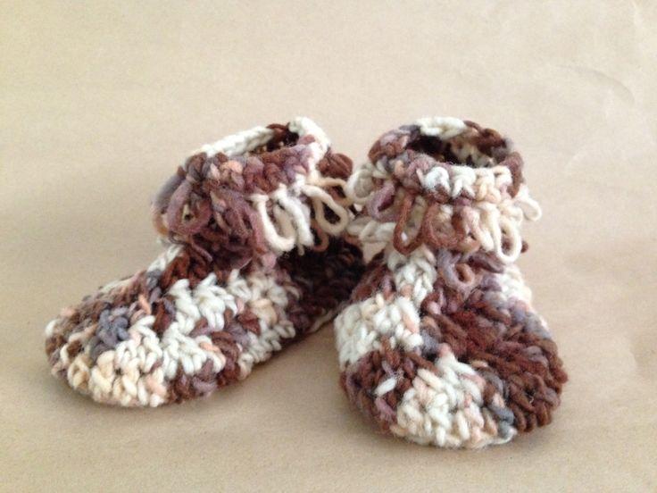 wool booties