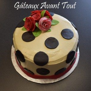 Pois et fleurs -Polka dots and flowers
