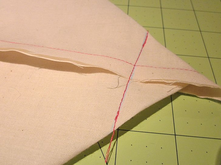 how to make a pillow cover without a sewing machine