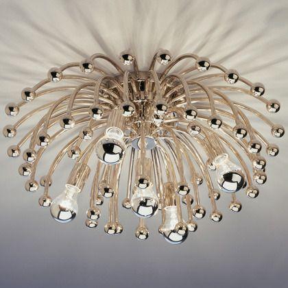 anemone: Anemone Ceiling, Lighting, Large Anemone, Adler Anemone, Light Fixture, Robert Abbey, Jonathan Adler, Anemones, Ceiling Lamps