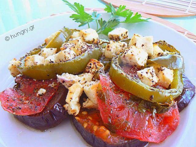Kitchen Stori.es: Λαχανικά στο Φούρνο με Φέτα