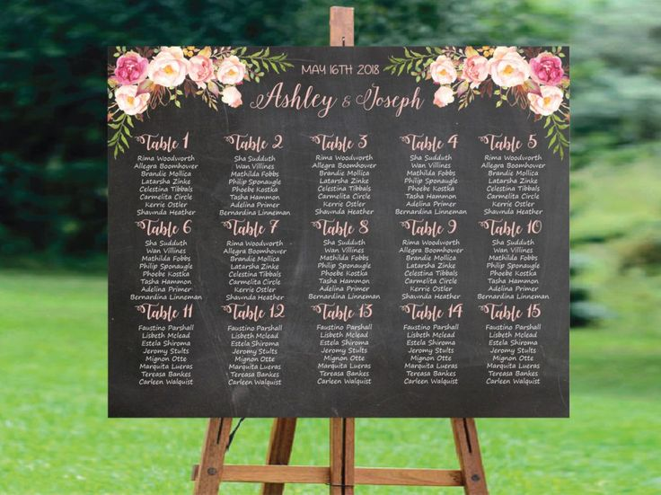 Image result for wedding seating chart