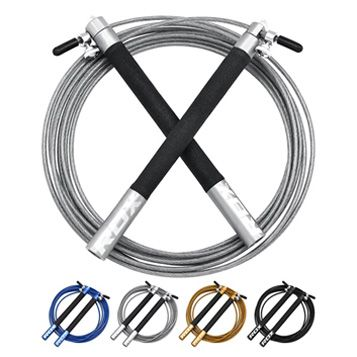 RDX Skipping Rope Adjustable Steel #affiliate