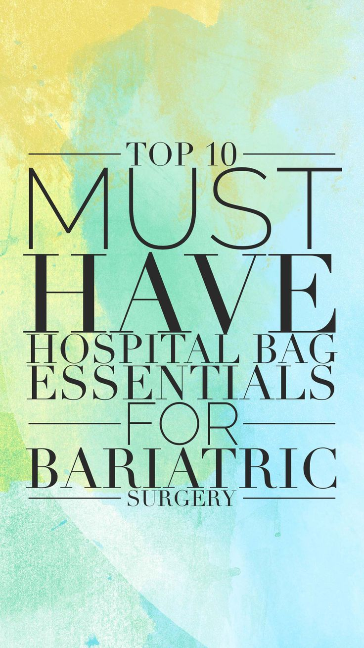 High 10 Should Have Hospital Bag Necessities for Bariatric Surgical procedure from somebody with… 3fc33d3ce0ed4b1c67bee1ed24b59b3f