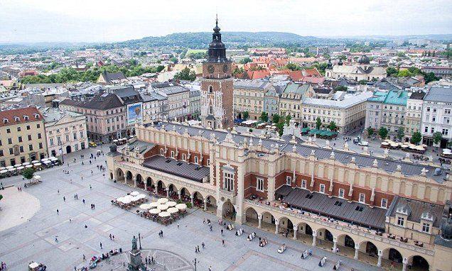 Krakow voted number one city break destination in new travel survey
