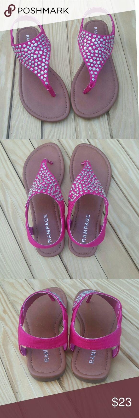 Weekend Sale NWOT Rampage Pink Sandals Rampage Pink Sandals Rampage Shoes Sandals